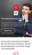 Business Website Design - Consulter - mobile preview