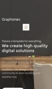 Design Studio Website - Graphonex - mobile preview