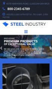 Factory Metal Fabrication - Steel Industry - mobile preview