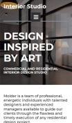 Remodeling Website Design - InteriorStudio - mobile preview