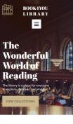 Public Library Website Design - Librarian - mobile preview