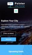 City Portal Website Design - Pointer - mobile preview