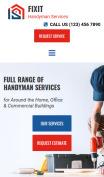 Home Services Design - mobile preview