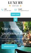 Travel Agent Website Design - mobile preview