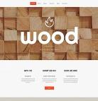 Wood Website Design - image