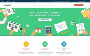 Seo Website Design - SEOAgent - tablet image