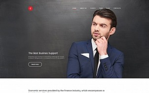 Business Website Design - Consulter - tablet image