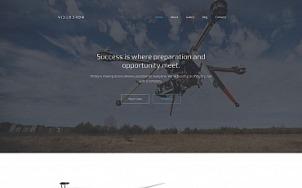 Video Website Design - Videodron - tablet image