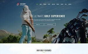 Golf Website Design - Golfinno - tablet image