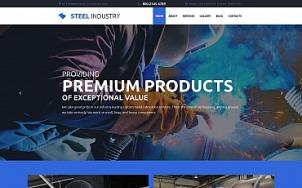 Factory Metal Fabrication - Steel Industry - tablet image