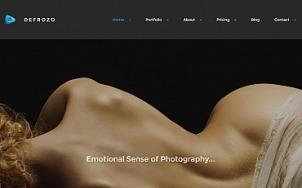 Photography Portfolio Theme - Defrozo - tablet image