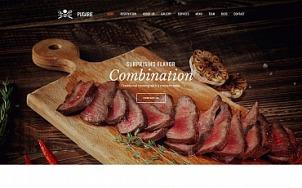Bbq Website Design - Pugarie - tablet image