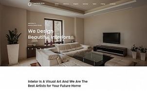 Home Decor Website Design - Interioni - tablet image