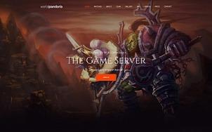 Clan Website Design - WorldPandaria - tablet image