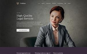 Attorney Website Design - Cealissa - tablet image