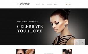 Jewelry Ecommerce - Jewelry Ecommerce - tablet image