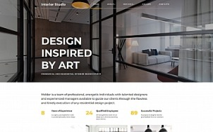 Remodeling Website Design - InteriorStudio - tablet image