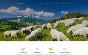 Best Agriculture Website Design - Sheepland - tablet image