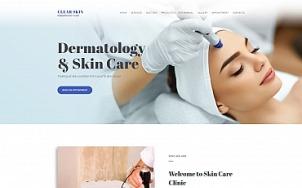 Dermatology Website Design - Clear Skin - tablet image
