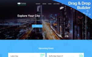 City Portal Website Design - Pointer - tablet image