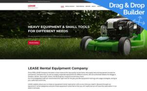 Equipment Rental Services - tablet image