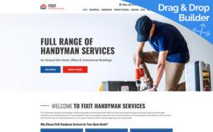 Home Services Design - tablet image