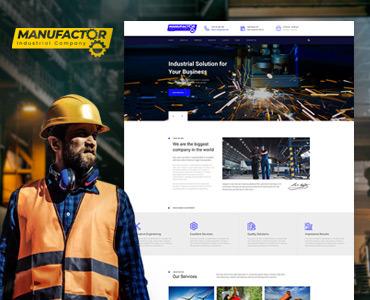 Шаблон для промышленных сайтов