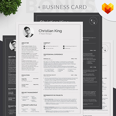 Resume menadżera projektu