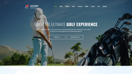 Golf Website Design - Golfinno - image