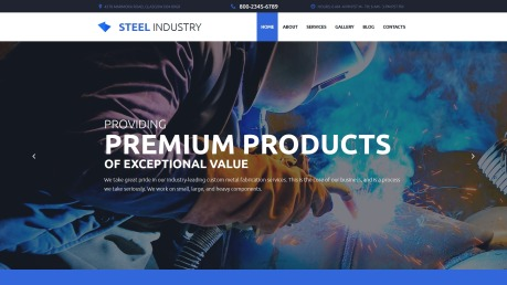 Factory Metal Fabrication - Steel Industry - image