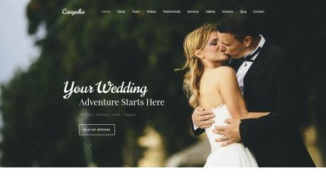 Wedding Planner Website Design - Cavyalia - image