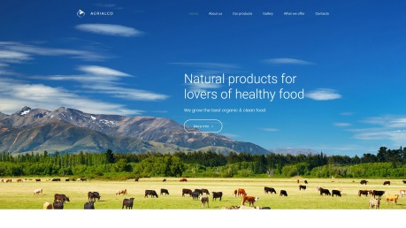 Agriculture Web Design - Agrialco - image