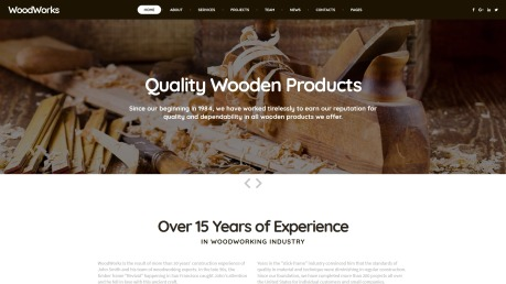 Woodworking Website Design - image
