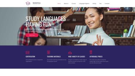 Education Website Design - Molehine - image