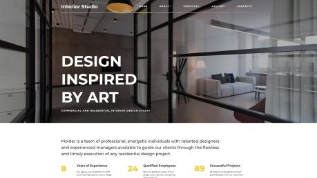 Remodeling Website Design - InteriorStudio - image