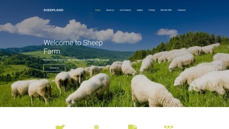 Best Agriculture Website Design - Sheepland - image