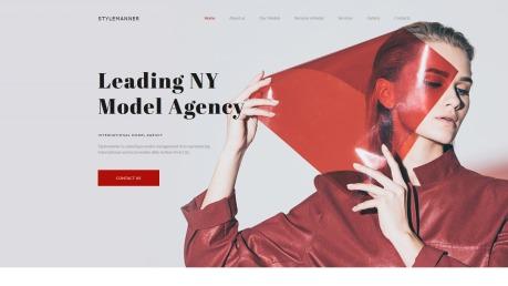 Modeling Website Design with Models Portfolio - image