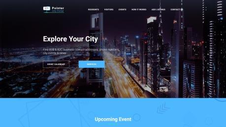 City Portal Website Design - Pointer - image