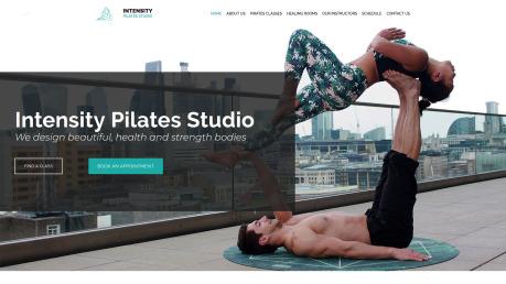 Pilates Studio Website Design - image