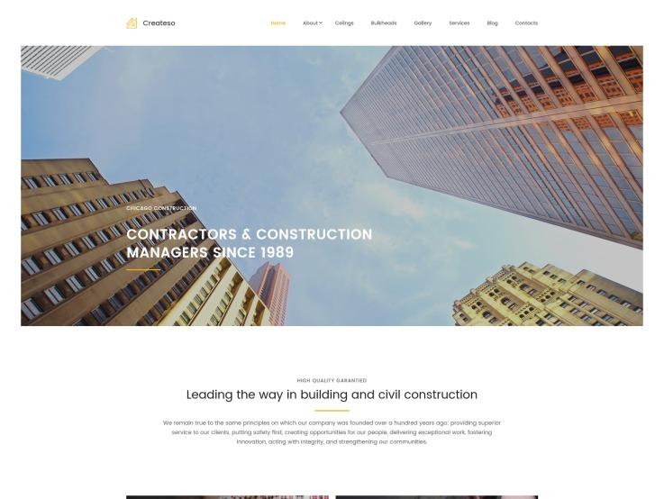 Industrial Website Design - Createso - main image