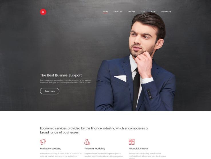 Business Website Design - Consulter - main image