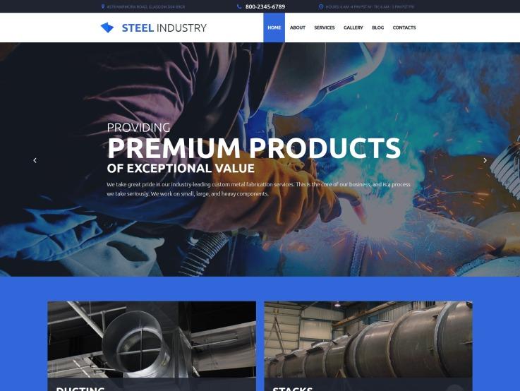 Factory Metal Fabrication - Steel Industry - main image