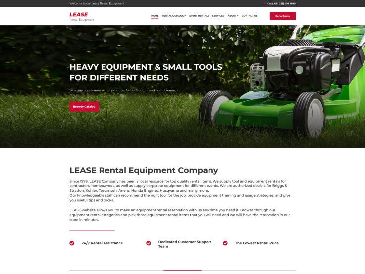 Equipment Rental Services - main image