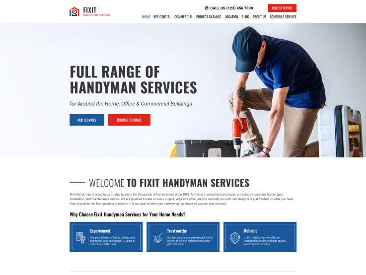 Home Services Design - main image