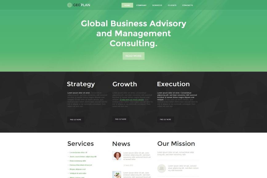 Шаблон html сайта компании видео урок создания сайтов