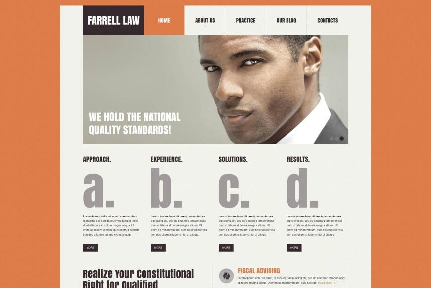 Law Website Background
